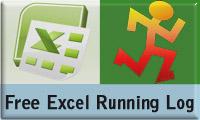 excel running log