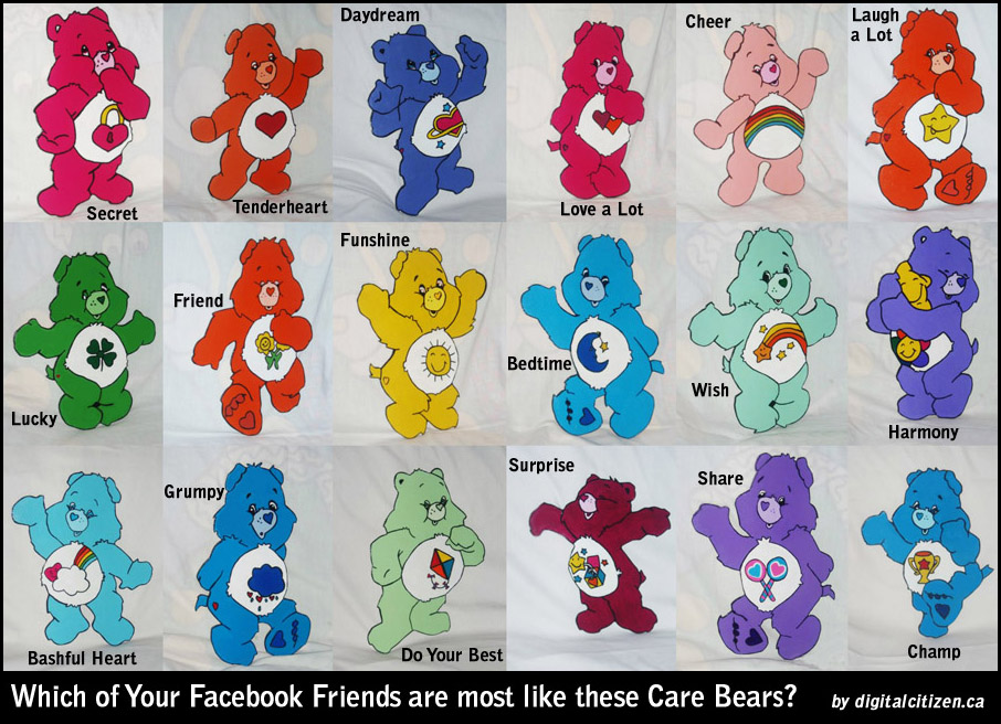 A Better Care Bears Facebook Tagging Meme Poster – Digital ... - photo#2