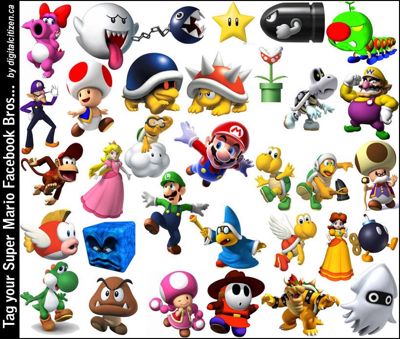 Super Mario Bros All C...