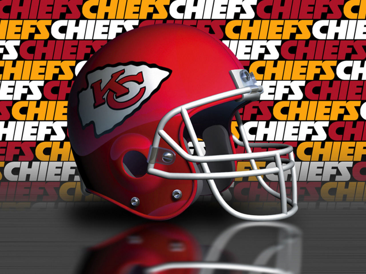 Kansas City Chiefs Logo http://www.sportsgeekery.com/1405/the-ultimate-kansas-city-chiefs-wallpaper-collection/