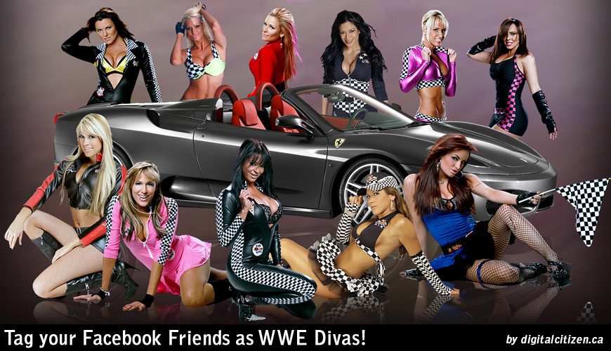 Wwe Raw Smackdown And Divas Facebook Tagging Pictures