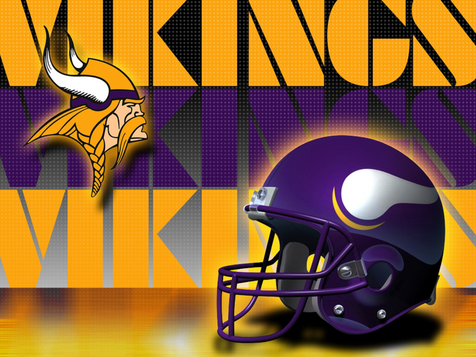Minnesota Vikings Helmet Side 16001200 Digital Citizen
