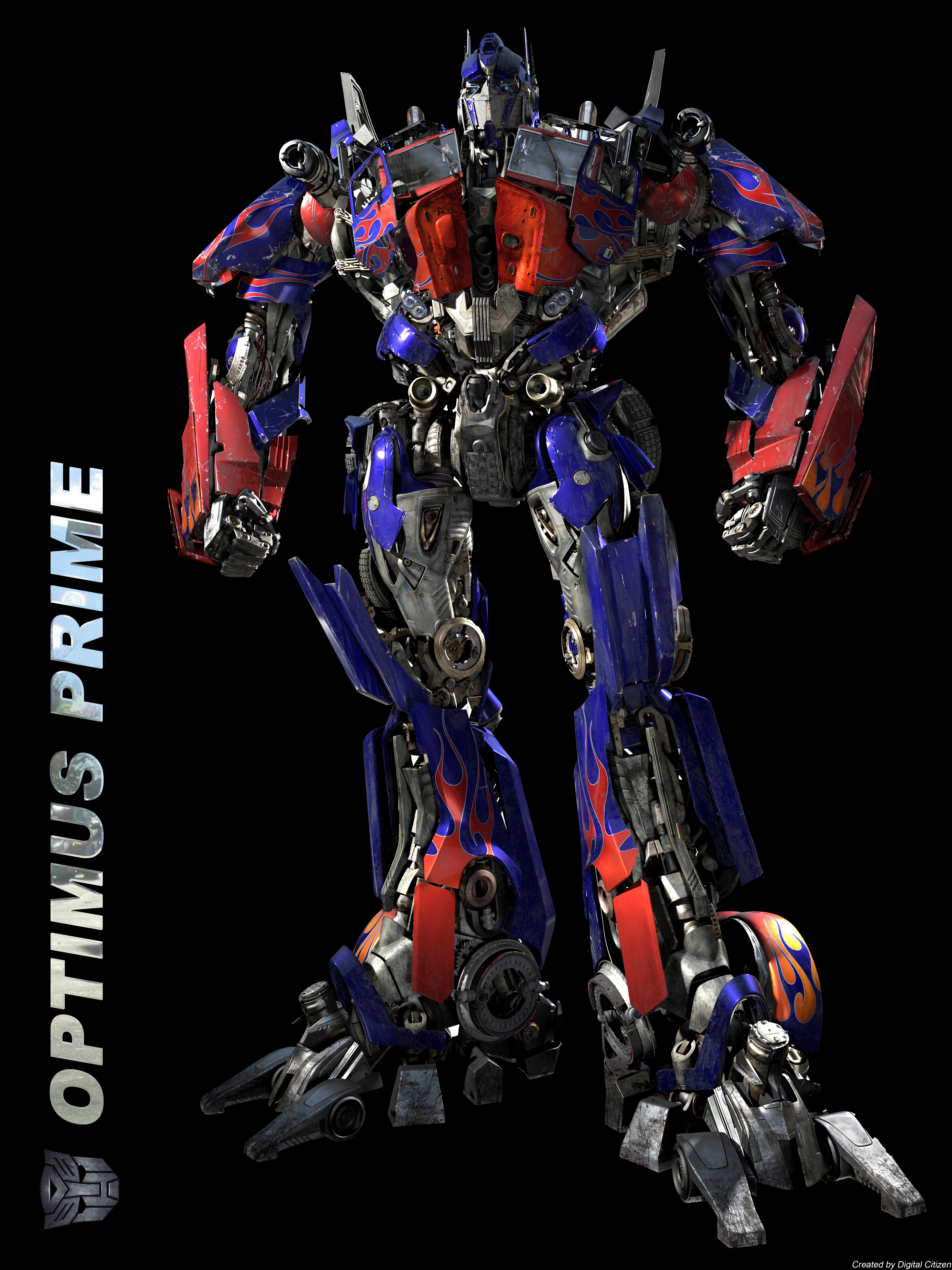 18 X 24 Printable Posters Of Optimus Prime Megatron And