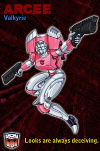 Transformers 6x4 Vertical Picture Cards Arcee