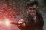 harry potter hp7 wand fire 6x4