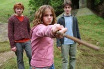 hermione granger ron weasley harry potter hp3 wand 6x4