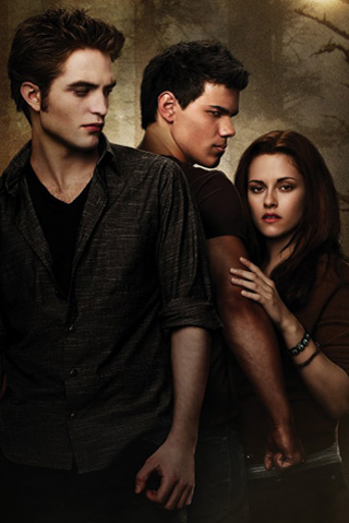 Bella Swan / Jacob Black / Edward Cullen. Share this!