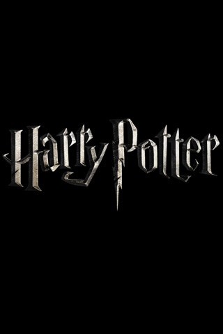 harry potter logo image. Harry Potter gold logo