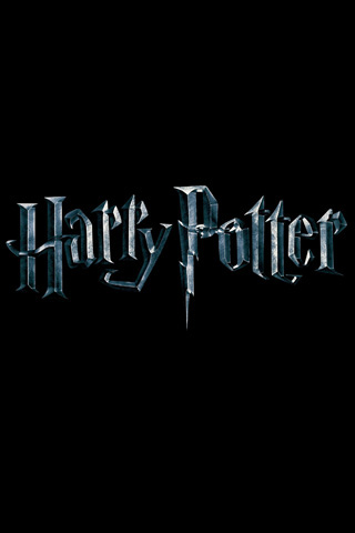 harry potter logo hp. Harry Potter silver logo