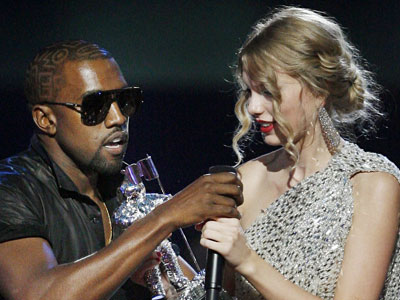 """Yo Taylor, I'm really happy for you, I'll let you finish, but Beyoncé has one of the best videos of all time. One of the best videos of all time!"""