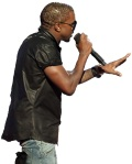 Blank Kanye West photo2