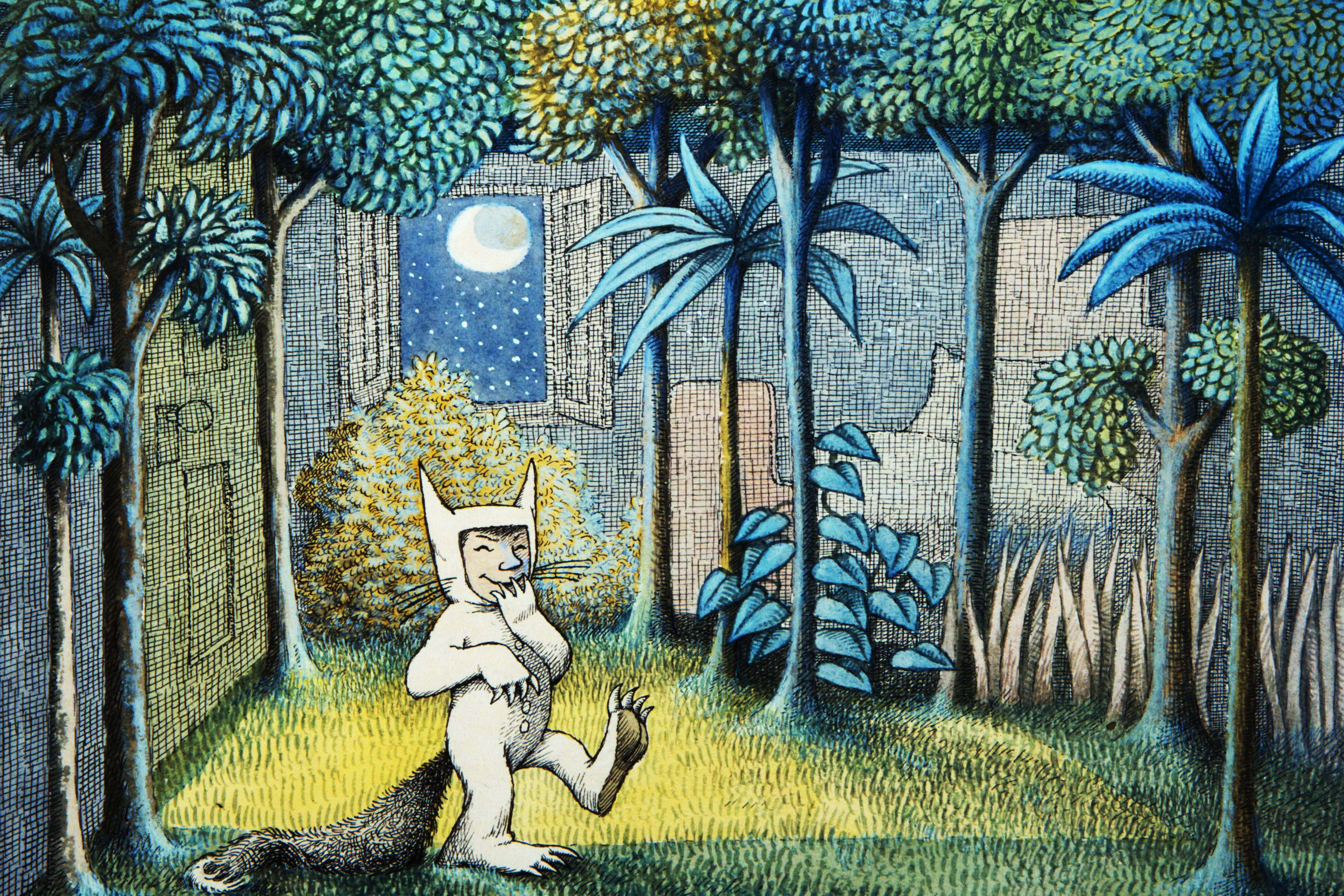 Image result for where the wild things are forest