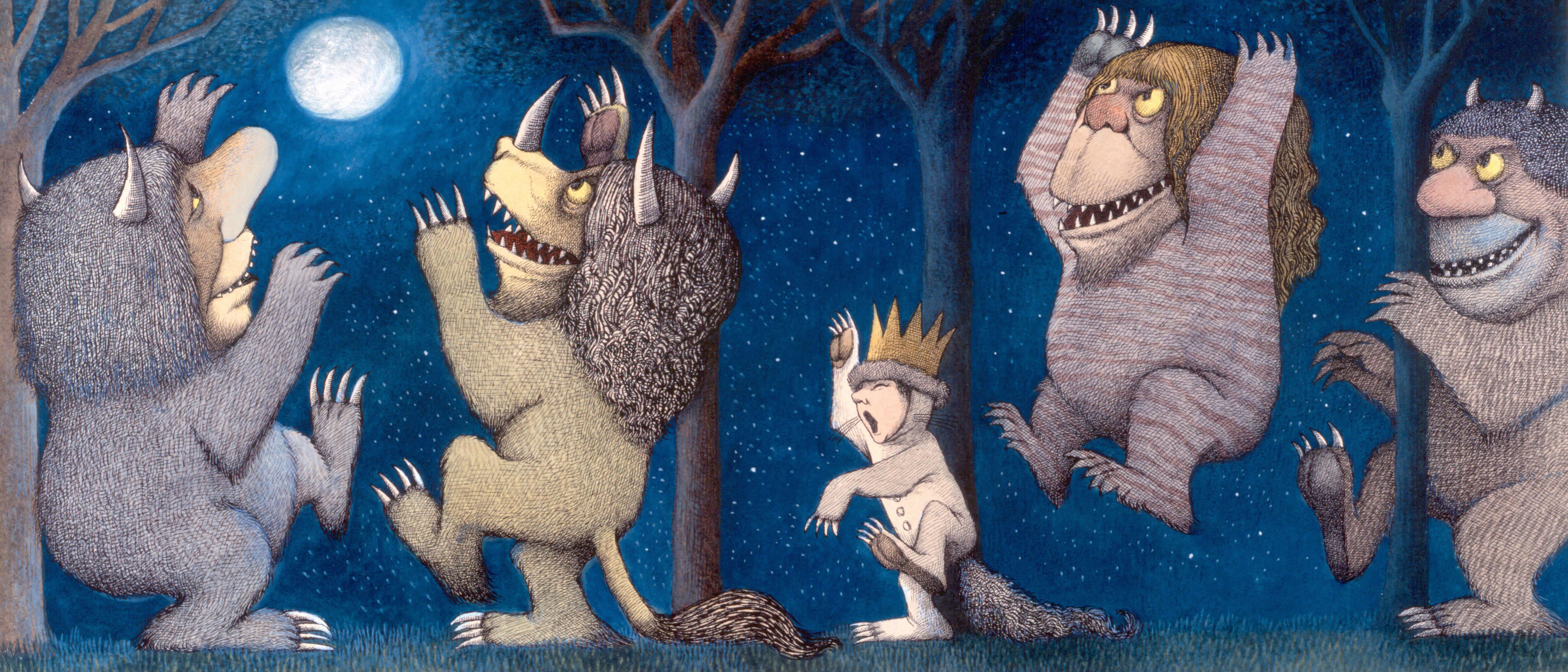printable where the wild things are placemats  12 u2033 x 18
