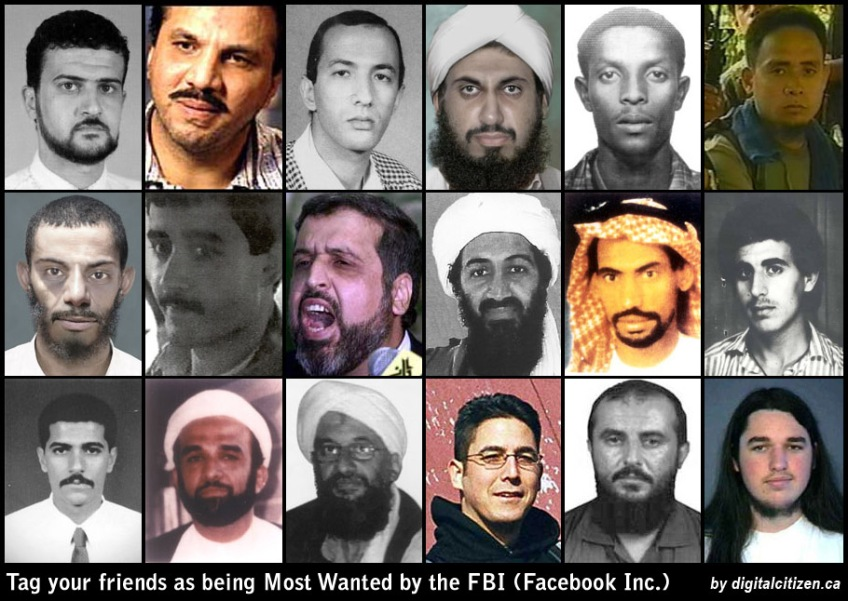 Tagging your Facebook Friends as Most Wanted (Terrorists) by