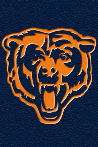 iphone ipod touch wallpapers chicago bears team flags