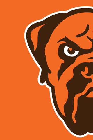 clevelandbrowns dog left half � digital citizen