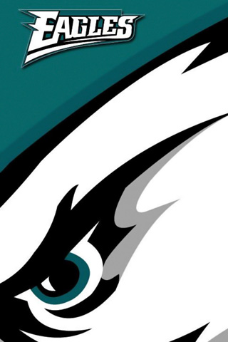 Philadelphia Eagles Closeup Left 320x480h