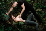 Robert Pattinson Kristen Stewart Forest