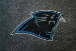 carolina panthers leather 6x4