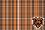chicago bears plaid 6x4