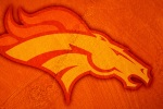 denver broncos rough glow 6x4