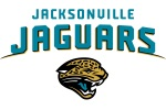 jacksonville jaguars white words 6x4