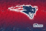 new england patriots 3d 6x4