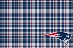 new england patriots plaid 6x4