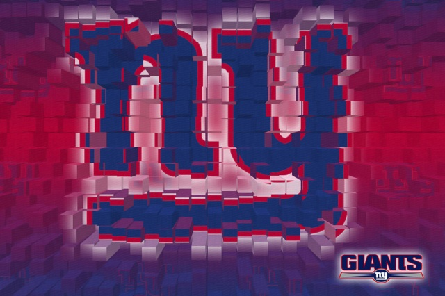 new york giants 3d 6x4