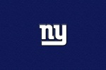 new york giants blue back 6x4