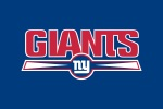 New York Giants word ny 6x4