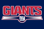 New York Giants word ny deep blue 480x320