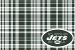 new york jets plaid 6x4