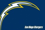 san diego Chargers lightning 6x4