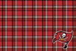 tampa bay buccaneers plaid 6x4