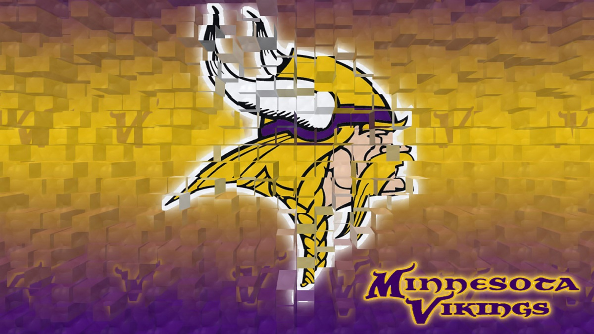 Minnesota Vikings 3d 1920×1080