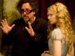 Alice / Tim Burton (Mad Director, looking like a real movie character)
