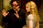 Alice / Tim Burton (Mad Director, who looks like a movie character)