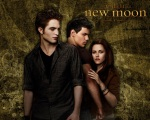 bella swan edward cullen jacob black green 1280x1024