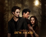bella swan edward cullen jacob black new moon 1280x1024