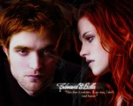 bella swan edward cullen red 1280x1024
