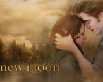 New Moon poster Bella Edward 1280x1024