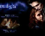 Twilight Live Forever Postcard 1280x1024