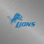 Detroit Lions (embossed steel)