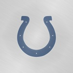 Indianapolis Colts (embossed steel)