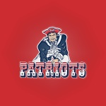 New England Patriots (embossed)