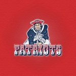 New England Patriots (embossed sandstone)