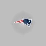 New England Patriots (button)