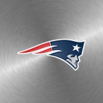 New England Patriots (embossed steel)