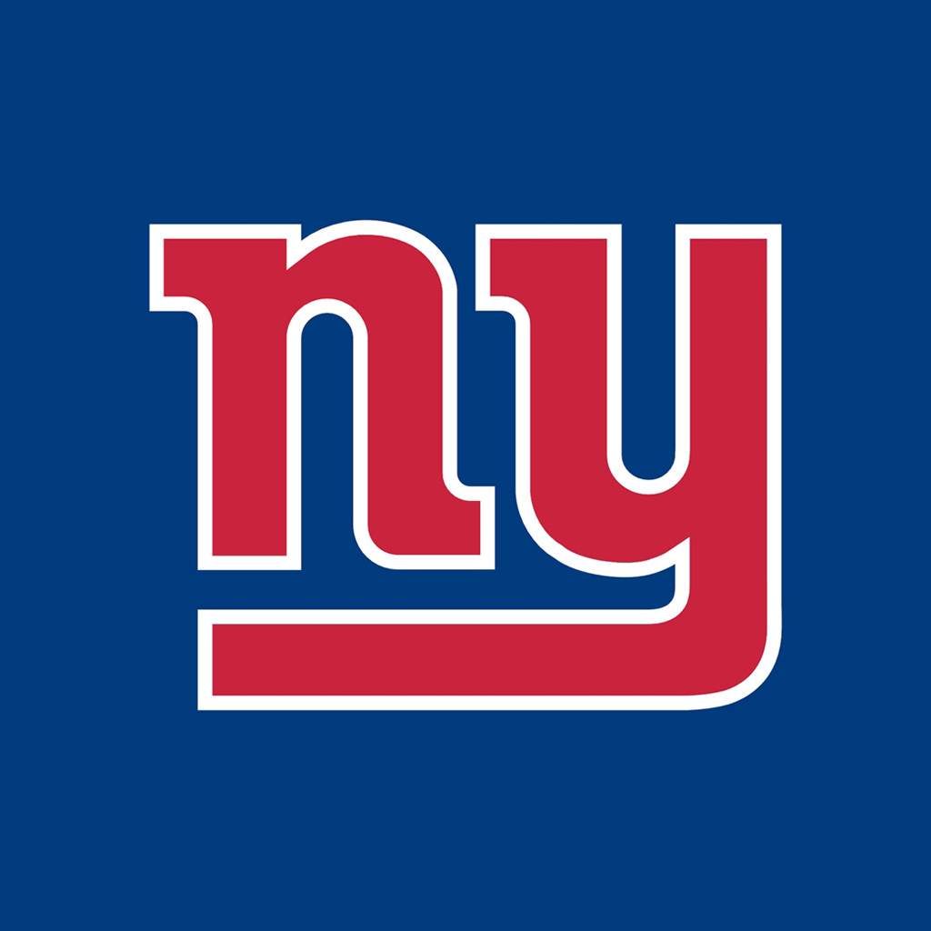 New York Giants Team Logos iPad Wallpapers » New York Giants ny red ...